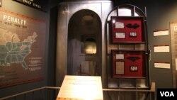 Газовая камера в вашингтонском Музее преступлений и наказаний