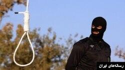 عکس آرشیو: اجرای مراسم اعدام در ایران