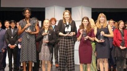 Quiz - US Girls Take Top Science Prizes