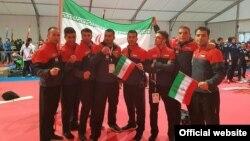 تیم ملی کاراته ایران در مسابقات جهانی اتریش