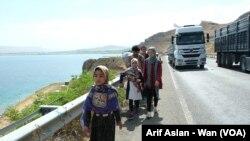 Penaberên Afganî li Herêma Wanê