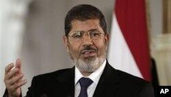 被罢免的埃及总统穆尔西