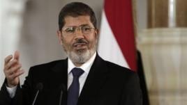Egyptian President Mohammed Morsi, in Cairo, Friday, July 13.