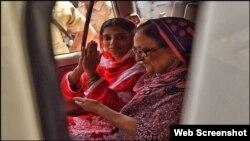 بلقیس ایدھی نے گیتا کی دیکھ بھال اور اسے بھارت پہنچانے تک اہم کردار نبھایاہے