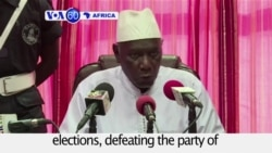 VOA60 Africa - Gambia: The longtime opposition party wins an absolute majority in parliamentary elections