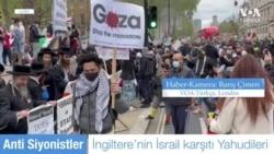 Filistin Eylemcilerine İsrail Karşıtı Yahudilerden Destek