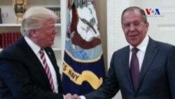 Trump Lavrov ile Suriye'yi Görüştü