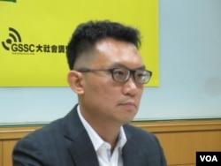 台灣世代教育基金會董事王智盛(美國之音張永泰拍攝)