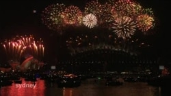 میلیون ها آمریکائی حلول سال نو مسیحی را جشن گرفتند