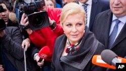 Predsednica Hrvatske Kolinda Grabar Kitarović