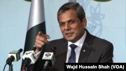 Juru bicara Kementerian Luar Negeri Pakistan Nafees Zakaria (foto: dok).