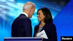 Mataimakin shugaban kasa Joe Biden da Sanata Kamala Harris
