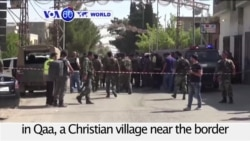 VOA60 World PM - At Least 5 Killed in Suicide Attack in Lebanon