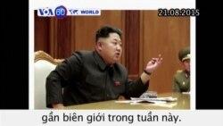 Bắc Triều Tiên tuyên bố 'tình trạng tương tự như chiến tranh' với Hàn Quốc (VOA60)