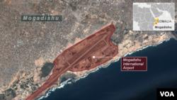 Mogadishu International Airport, Somalia