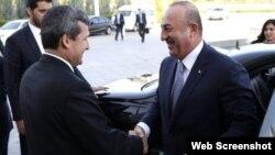 Mövlud Çavuşoğlu və Rəşid Meredov