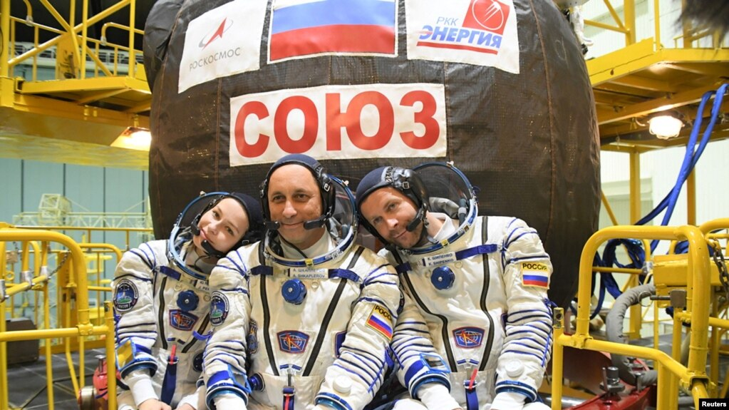 Uluslararası Uzay İstasyonu'nda İlk Film Çekimi