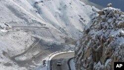 برفباری های شدید در افغانستان