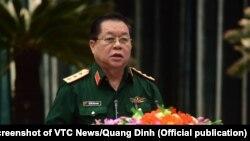 Thượng tướng Nguyễn Trọng Nghĩa - Phó Chủ nhiệm Tổng cục Chính trị quân đội nhân dân Việt Nam.