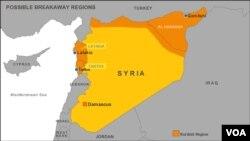 Syria's Tartus, Latakia region