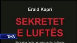 """Libri """"Sekretet e Luftës"""", i studiuesit Erald Kapri"""