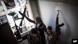 Članovi Slobodne Sirijske Armije