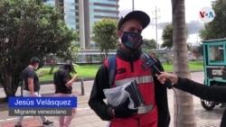 Jesús Velásquez, migrante venezolano