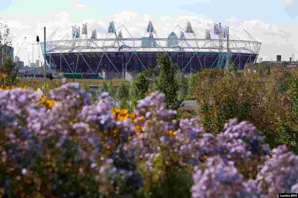 Parques de la zona sur en las instalaciones olímpicas.
