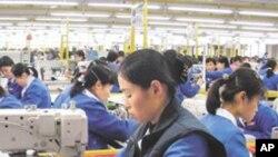 개성공단의 북한 근로자