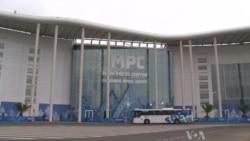 Sochi Main Press Center Busy Hub for Media