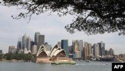 澳大利亞悉尼歌劇院。 (2018年5月2日)