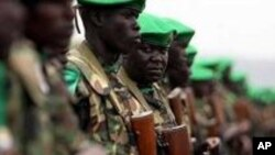 AMISOM Soldiers in Somalia
