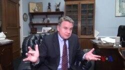 VOA专访:史密斯议员谈上海纽约大学人权演讲