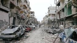 အပစ္ရပ္ဖို႔ ေတာင္းဆိုထားတဲ့ ဆီးရီးယားမွာ တိုက္ပြဲဆက္ျဖစ္