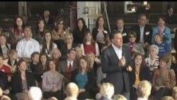 2012-04-11 美國之音視頻新聞: 美國總統競選成為兩名主要候選人角逐