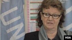 聯合國婦女協會的巴基斯坦小組負責人萊娜林德伯格