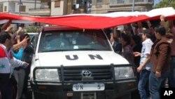 Сирийцы приветствуют помощь ООН