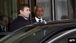 Кофи Аннан в Дамаске