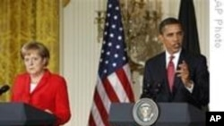 Obama And Merkel Meet