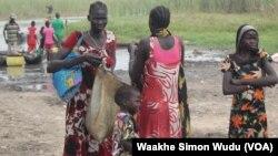 Warga miskin di negara bagian Unity, Sudan Selatan.