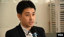 香港教育大學香港研究學院副總監方志恒。(美國之音湯惠芸)