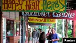 """澳大利亞有""""大麻村""""之稱的嬉皮小鎮寧賓(Nimbin)"""