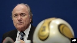FIFA chief Joseph Blatter (file photo)