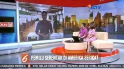 Laporan Lagsung VOA untuk SCTV: Pemilu Indonesia 2019 di AS