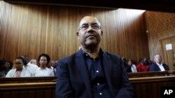 Manuel Chang no tribunal de Kempton Park,em janeiro de 2019