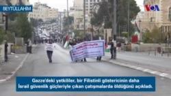 Filistinliler'in Protesto Gösterileri Sürüyor