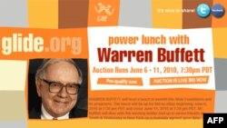 Buffet'le Öğle Yemeği İçin 2,63 Milyon Dolar