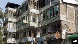 아프가니스탄 폭파현장