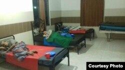 Tempat tidur di Balai Lansia Budhi Dharma, Bekasi. (Foto: Kepala Balai Lansia/Pujiyanto)
