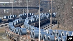 3月2日德國鋼鐵產品正待運出。